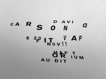 An Evening with David Carson