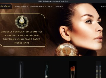 International Cosmetics Company - Website Launched
